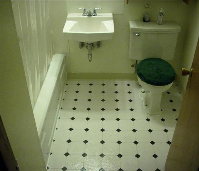 Basement Bathroom After